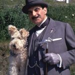 Bob and Hercule Poirot in the movie adaptation of Dumb Witness by Agatha Christie