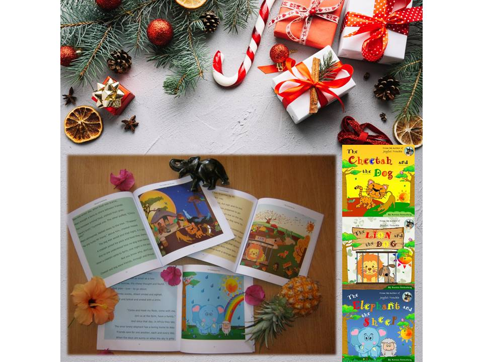 A Christmas Sneak Peek Inside my Diverse Children's Books