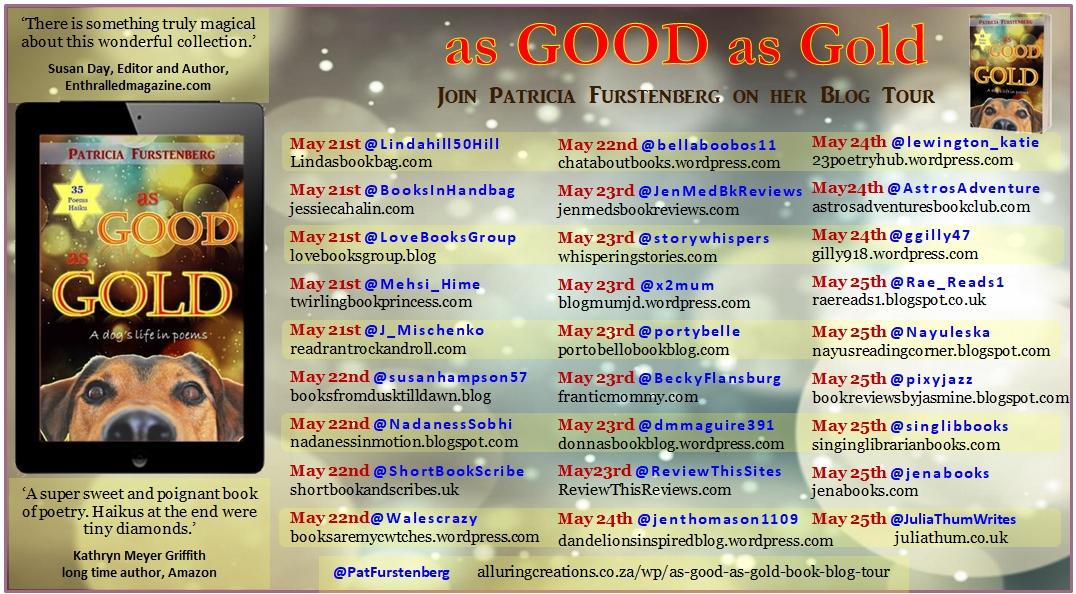 #AsGoodAsGold Blog Tour @PatFurstenberg
