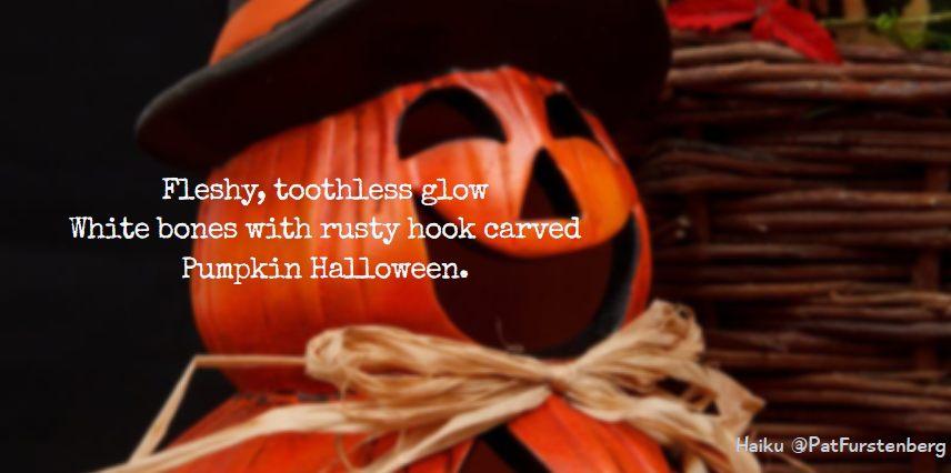 Pumpkin, Halloween Haiku via @PatFurstenberg #haiku #halloween