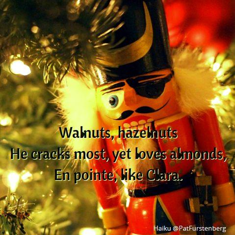 Nutcracker, #Christmas #Haiku via @PatFurstenberg