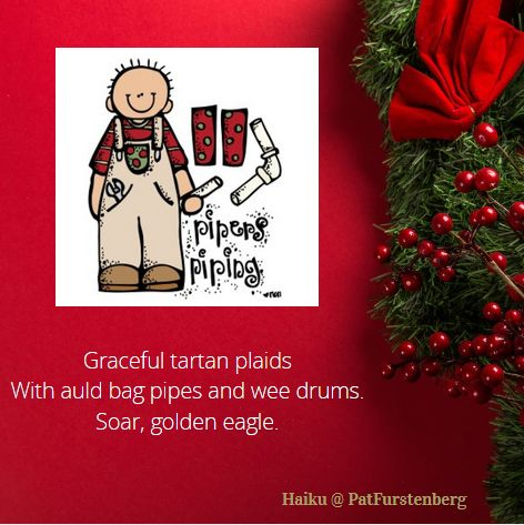 11th Day of Christmas Haiku, #Haiku, #pipers #piping via @PatFurstenberg