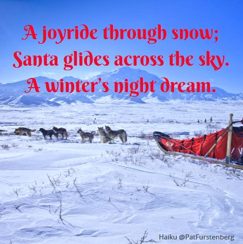 Sleigh, #Christmas #Haiku via @PatFurstenberg