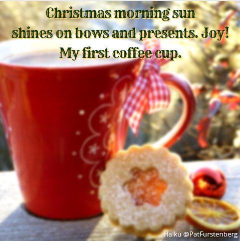 Joy, #Christmas #Haiku via @PatFurstenberg