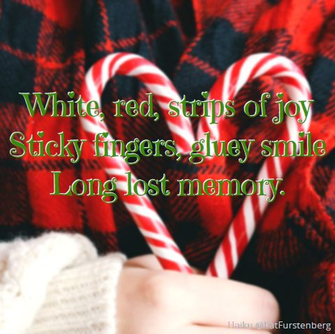 Candy Cane, #Christmas #Haiku via @PatFurstenberg
