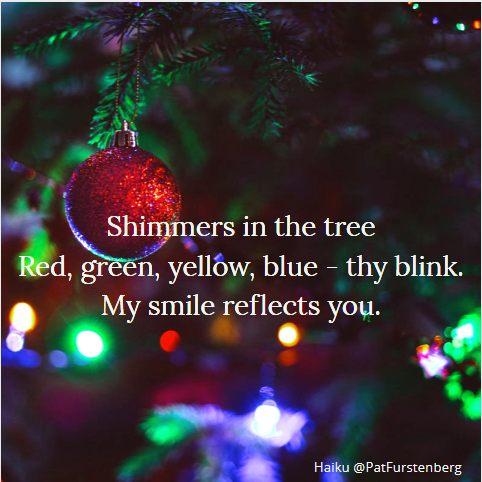 Christmas Lights, #Christmas #Haiku #Sunday #HaikuSan via @PatFurstenberg