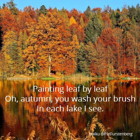 Haiku-San, Autumn, #Haiku #Sunday #HaikuSan via @PatFurstenberg