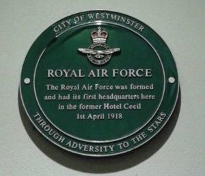 Royal Air Force RAF - source greatwarlondon
