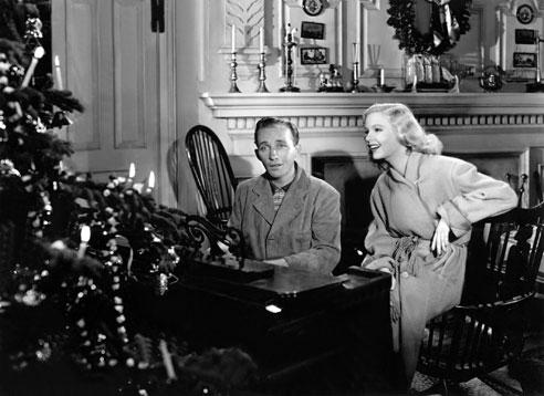 Movie Music Monday, White Christmas, Holiday Inn, 1942, BingCrosby, Fred Astaire via @PatFurstenberg #Christmas #moviemusicmonday