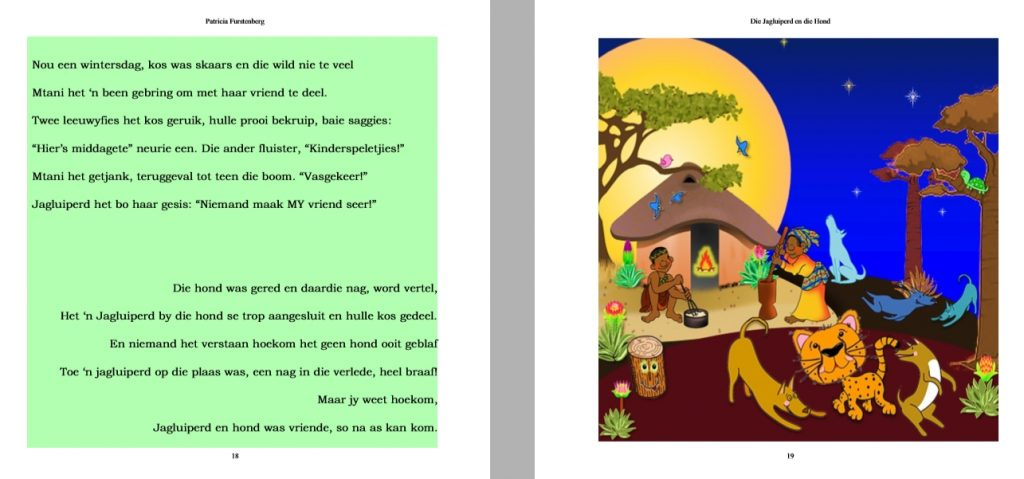 Die Jagluiperd en die Hond - sneak peek - get it on Amazon now