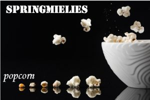 Springmielies - Jumping corn - popcorn