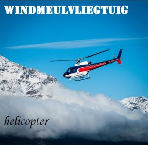 Windmeulvliegtuig - wind mill flying plane - helicopter