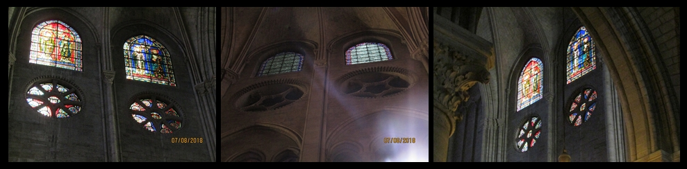 Notre Dame Cathedral - clerestory windows, photo by Lysandra Furstenberg