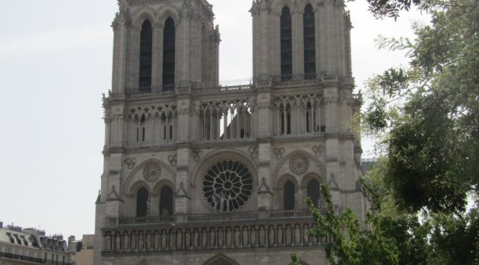 Notre-Dame de Paris, a Visit before the April 2019 fire via @patfurstenberg #NotreDame #tourism #culture #poetry