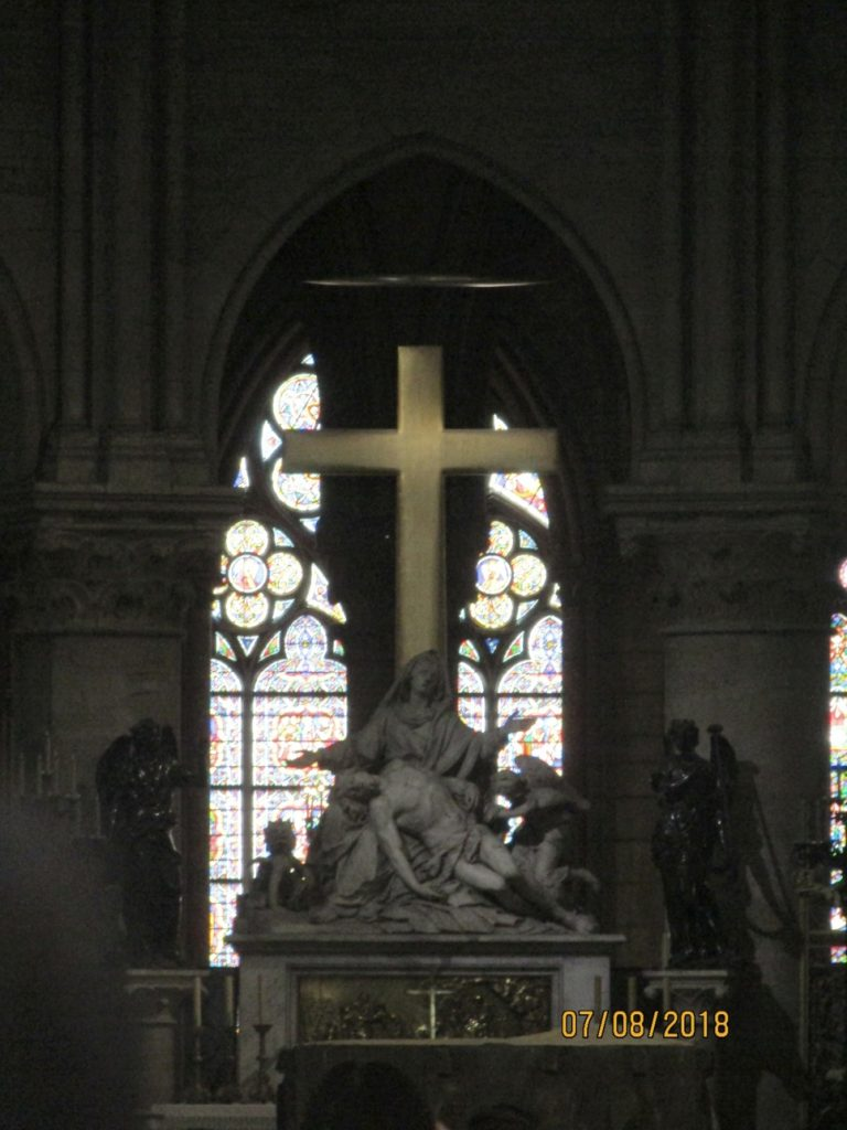 Notre Dame Cathedral view of High Altar and Pieta 2 - photo by Lysandra Frustenberg