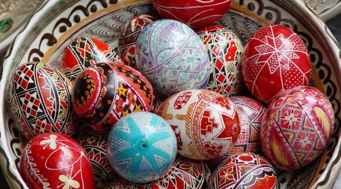 Orthodox Easter Eggs, folktales, symbolism, traditions via @patfurstenberg #culture #history