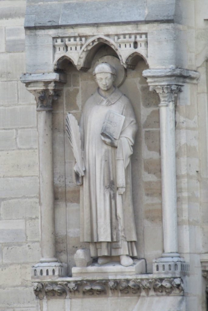Saint Stephen -Notre Dame Cathedral - photo by Lysandra Furstenberg
