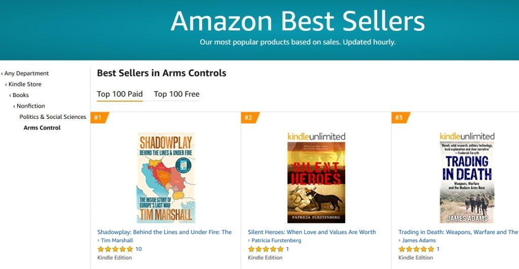 Amazon UK #2 Bestsellers Arms Control.jpg