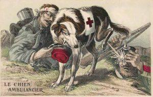 French propaganda postcard of WW1