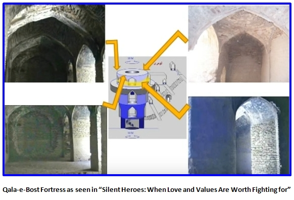 """Qala-e-Bost Fortress as seen in""""Silent Heroes: When Love and Values Are Worth Fighting for"""""""