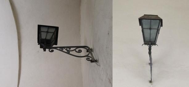 Lamp post on Schei Gate, Poarta Schei, Brasov. Image by @PatFurstenberg