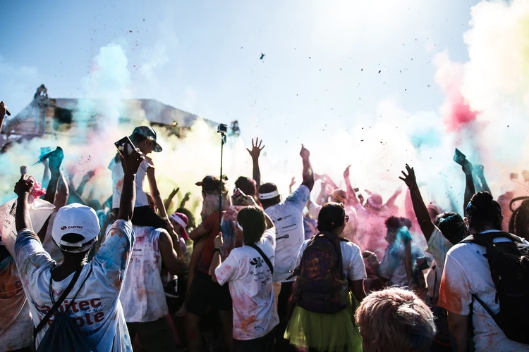 Celebrating South Africa and its Heritage Day through Pictures , Festival of colours, Stellenbosch, Sa, image by @nqoe free on Unsplash.jpg