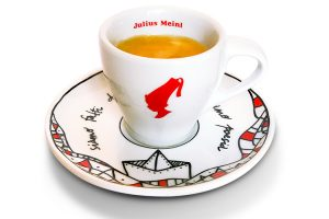 Pay with a poem day - a cup of Julius Meinl coffee, pay poem day poetry