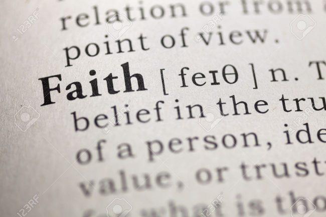 Faith - Dictionary definition