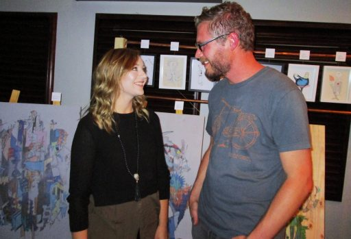 Art Vibes Exhibition,Heinrich Pelser, Lily and Bear