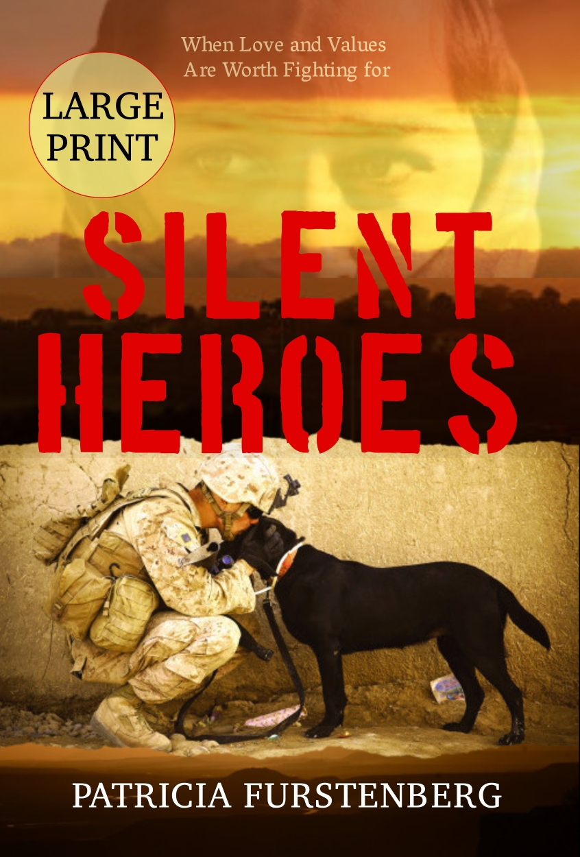 Silent Heroes, Large Print Edition