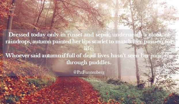 autumn with scarlet lips @PatFurstenberg