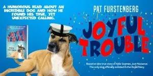 Joyful Trouble, military dog WW2 novel