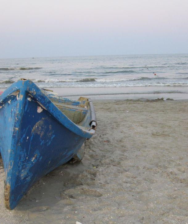 blue fishermen by the sea @PatFurstenberg