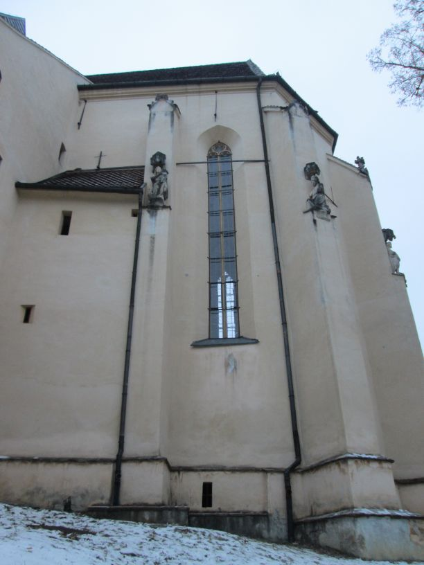 The Church on the Hill, Sighisoara, looking up
