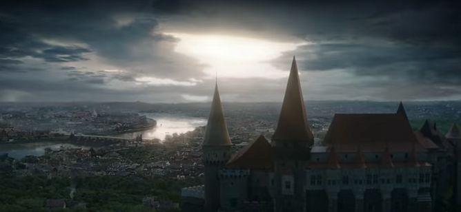 Corvin Castle as seen in Dragonheart: Battle for the Heartfire.
