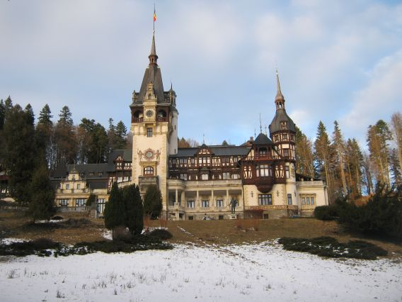 exploring Romania movie locations, Peles Castle featured in A Princess for Christmas