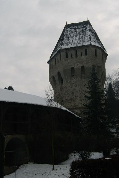 The Tinsmiths' Tower & bastion, Sighisoara. Turnul Cositorilor. marvel medieval towers fortress