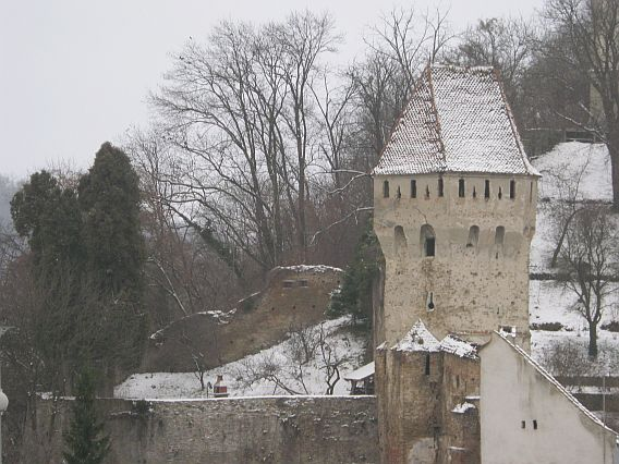 Sighisoara fortress - marvel medieval towers fortress. Tanners Tower