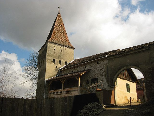 the Furriers' Tower, medieval Sighisoara, 14th century - Turnul Cojocarilor
