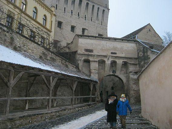 journey medieval city Sighisoara
