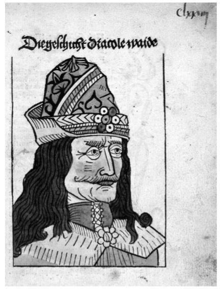 The Story of Vlad the Impaler, 1488 - vlad medieval feast blood