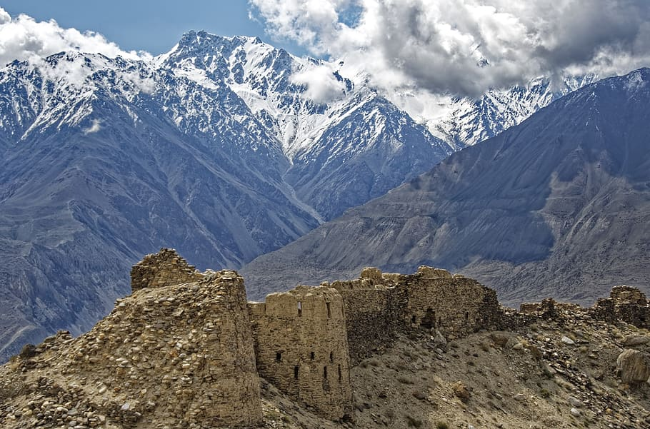 fortress - Taliban - journey Hindu Kush mountains