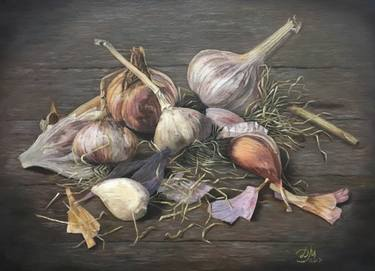 Romanian folklore myths legends, garlic, against evil spirits - usturoi de deochi