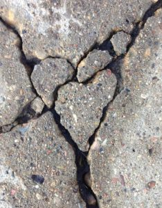 I remember avoiding stepping on pavement cracks when I was a child. The word on the street was that it brought bad luck!  - folklore, child-lore Romania