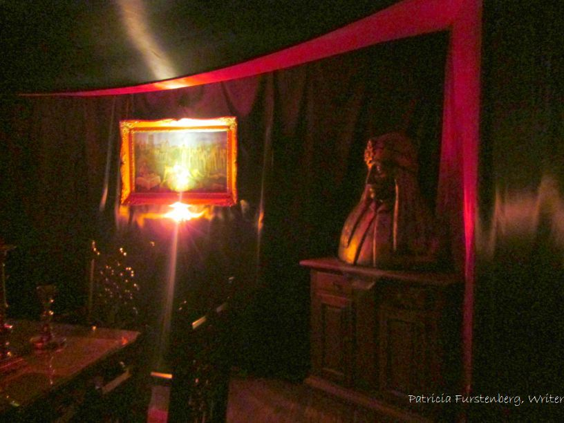 inside the house where Vlad the Impaler, Vlad Dracul, Dracula was born