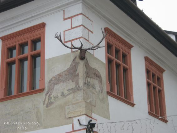 The Stag House showcases an authentic late renaissance - early baroque architecture as well as authentic stag antlers.