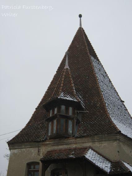 Shoemakers Tower - roof. Medieval Sighisoara