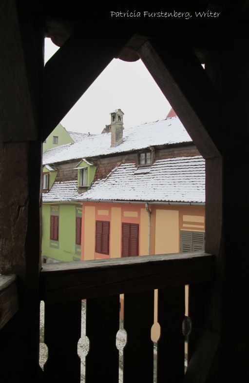 Shoemaker's Tower view on Sighisoara - marvel medieval towers fortress