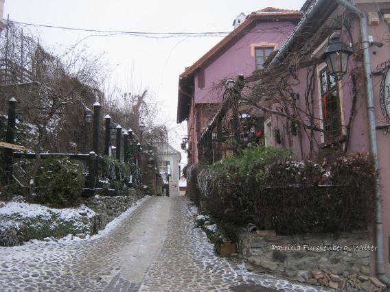 Medieval Sighisoara with its colorful houses