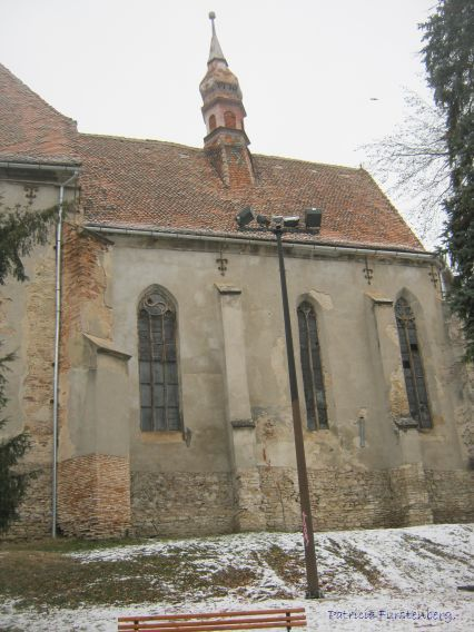 Sighisoara, Roman-Catholic church near the Clock Tower. house Vlad Tepes born